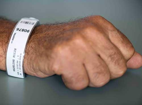دستبند بیمار